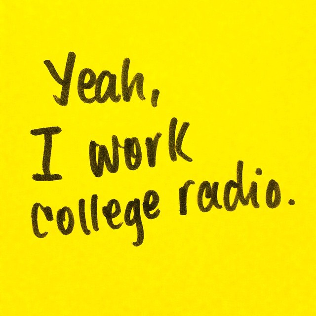 Say that like it's no big deal. Putting that you manage your college radio station on your resume is pretty rad. Apply to get a paid management position at #SCAD Radio by the 23rd! Check the applications and positions out on #SCADRadio.org!