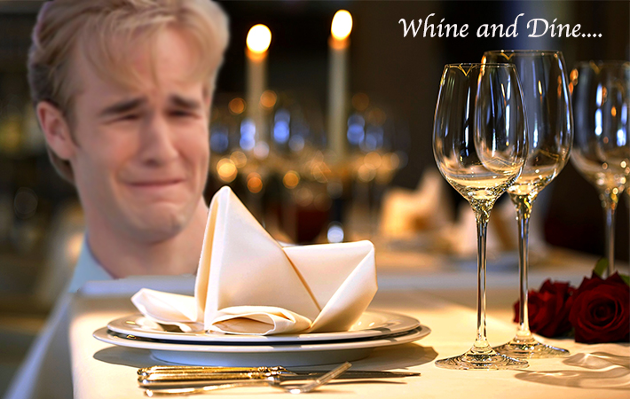 whine-and-dine