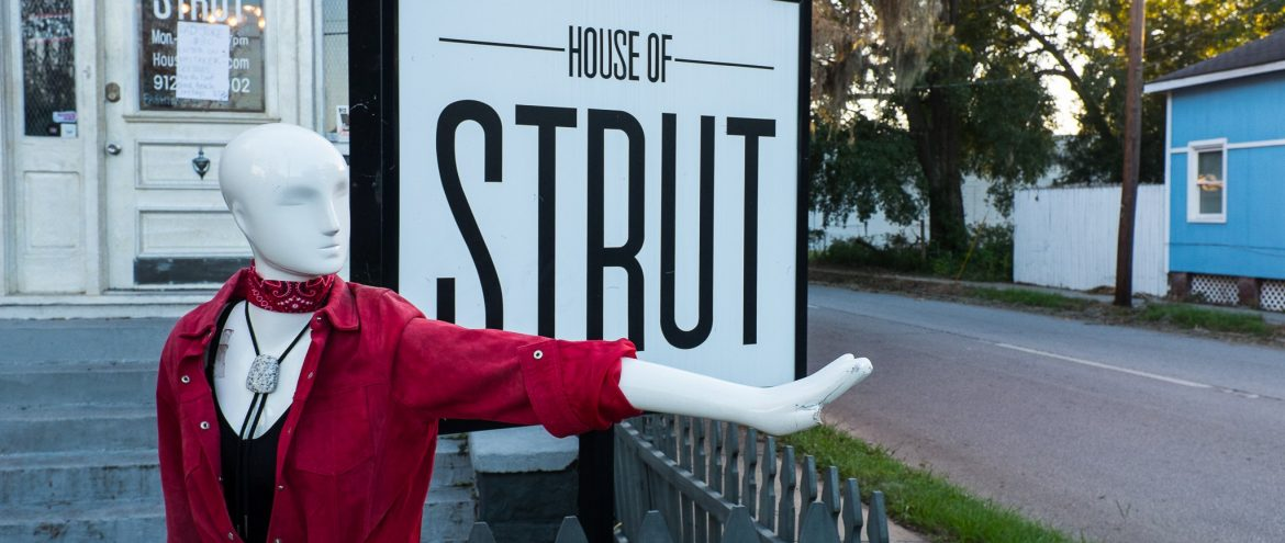 Rocking the House…of Strut